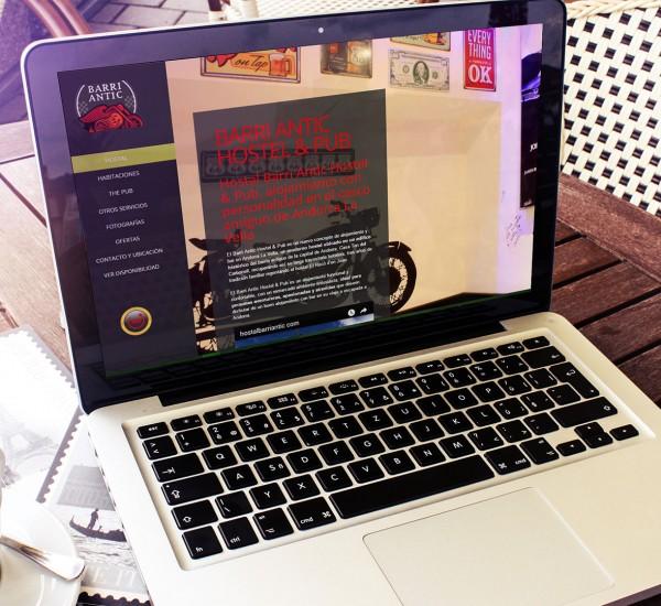 Barri Antic Hostel & Pub: posicionamiento web o SEO para hoteles y hostales en Andorra